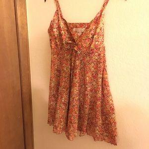 Victoria's Secret floral slip dress